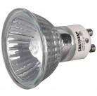 Лампа галогенная СВЕТОЗАР с защитным стеклом, алюм. отражатель, цоколь GU10, диаметр 51мм, 35Вт, 220