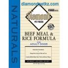Diamond Naturals Beef & Rice Для взрослых собак. Говядина с рисом 18,14 кг