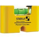 Уровень для электрика Stabila Pocket Basic