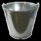 Ведро нерж. 2.13 л.. глубина-18 см., диаметр-21 см. 5523 Worth