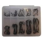 Крючки в коробке прозрачной 21058