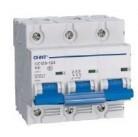 Автоматический выключатель DZ158-125 3P C 100 Chint
