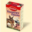 SK7200 SANAL (для грыз) Yoghurt Drops 45г (Йогуртовые Дропсы + Вит. А, С, D,Е) (14шт)