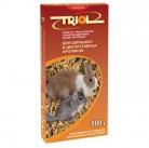 Е200 Триолл- Криспи корм для шиншил и кроликов 500г