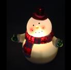 Ночник Космос EL113 фигурка снеговика наст.