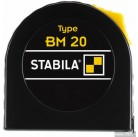 Рулетка Stabila BM 20 3m 12,5mm width