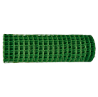 Садовая решётка в рулоне 1х20 м, ячейка 90х90 мм - зелёная    64521