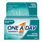 One A Day Активный метаболизм для женщин 50таб