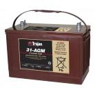 31-AGM Необслуживаемая тяговая батарея