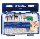 Набор насадок для чистки и полировки Dremel 684