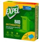 Expel биоактиватор для дачных туалетов и септиков, 12 таблеток в уп.(12*20 г) (8)