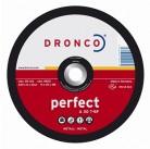 3236041 шлифовальный диск по металлу 230x6x22,23 Dronco
