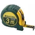 """Рулетка KRAFTOOL """"EXPERT"""" с нейлоновым покрытием, обрезин корпус, 3/13мм"""