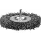 """Щетка ЗУБР """"ЭКСПЕРТ"""" дисковая для дрели 2-рядная, витая стальная проволока 0,3мм, 100мм"""