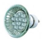 Лампа LED 18 GU 10D белый