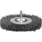 """Щетка ЗУБР """"ЭКСПЕРТ"""" дисковая для дрели, витая стальная проволока 0,3мм, 100мм"""