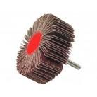 """Круг шлифовальный ЗУБР """"МАСТЕР"""" веерный лепестковый, на шпильке, тип КЛО, зерно-электрокорунд нормальный 36602-080"""
