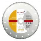 4230460 алмазные диски PERFECT TURBO F 230x2,4x22,23 гоф Dronco