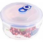 4551 GIPFEL Герметичный контейнер для хранения продуктов круглый 167х90мм - 1150ml