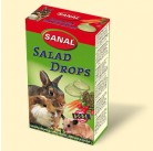 SK7300 SANAL (для грыз) Salad Drops 45г (Овощные  дропсы  + Вит. А, С, D,Е) (14шт)
