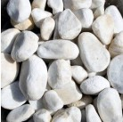 Галька белая (средняя фракция 15-30мм) 20 кг WS-102