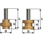 Комплект фрез для прямоугольного сращивания 20х12х6х8 мм Интерскол 2100500500001