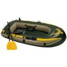 Лодка Seahawk 2 двухместная до 200 кг 236*114*41 см + 3 аксессуара Intex 68347