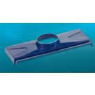 Основа для 1 дефлектора Dospel WWS 150/1 синий, коричн., красн