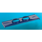 Основа для 2 дефлекторов Dospel WWS 150/2 синий, коричн., красн