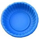 Ваза-клумба круглая синяя 93*93*30 см (210 л)