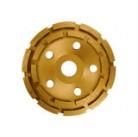 Чашка алмазная Crown CTDDP0162 d 115 2 рядный
