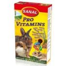 SK7100 SANAL (для грыз) Pro Vitamine 45г (Подкормка из люцерны +Вит. А, В-комплекс, D3, Е и минералы)(14шт)