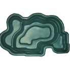 Пруд зеленый 250*150*60 см (900л)