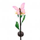 Светильник Старт сад 1Led Бабочка фиолетовая