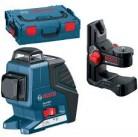 Линейный лазерный нивелир (построитель плоскостей) GLL 2-80 P + BM1 в L-Boxx 0601063206