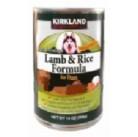 Консервы для собак Ягненок с рисом KIRKLAND