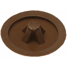 Заглушка декоративная ЗУБР под шуруп, цвет бук, шлиц №2, ТФ6, 40шт