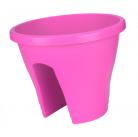 Горшок для перил Corsica Flower Bridge 30см soft  pink