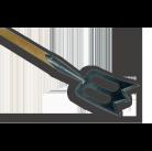 """Лопата-плоскорез профессиональная """"Гений"""", рукоятка - 1400 мм ."""