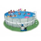 Каркасный бассейн 54956 Intex Ultra Frame Pool 549 см х 132 см