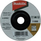 Шлифовальный диск изг. 125х6.0х22.23 по металлу A-80874 Makita