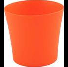 Горшок Фиалка 110мм без поддона, оранжевый