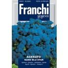 Агератум карликовый синий Nano Blu Star  VXF300/2   Franchi Sementi