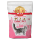 ARATON cat adult no hairball 400g dry