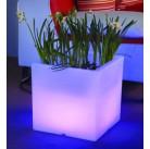 Горшок Светящийся Куб с диодной подсветкой, 303151