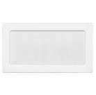 Решетка вентиляционная белая Dospel 17х37