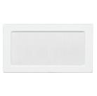 Решетка вентиляционная белая Dospel 17х30