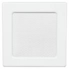Решетка вентиляционная белая Dospel 22х22