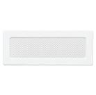 Решетка вентиляционная белая Dospel 11х32; 11х42