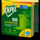 Expel биоактиватор для выгребных ям в дачных туалетах и септиков, 4 саше в уп. (10)